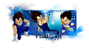 Signature Vegeta by AniMangaSigns