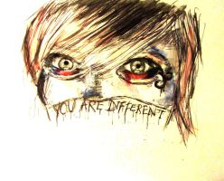 You are different by lucydoops
