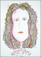 Abstract Girl june 09 by marjol3in