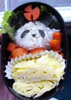 Wedding bento by lil-utena