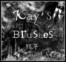 Kay's brushes for PS 7 by KaynessArt