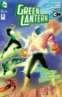 Green Lantern book 2 by DarioBrizuelaArtwork