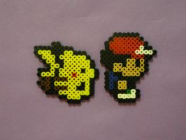 Pokemon Yellow Perlor Beads by FishingForBirdies