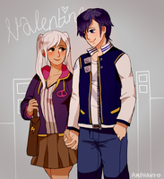 Valentine's stroll by Amphany