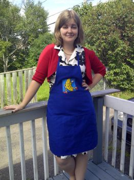 Banana Stand apron by estranged-illusions