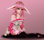 Elin in Pink by XxFrozenxLovexX