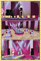 Be fabulous stage (fashion runway) - download by YamiSweet