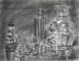 reflective still life by butterflywisper