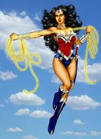Wonder Woman-Diana New 52 by godstaff