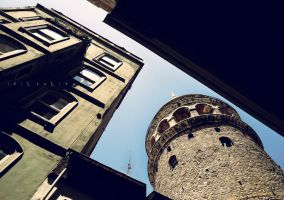 Galata Tower by idilsalihakuntuz