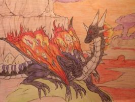 Hell Blackdragon by Lycan-metal