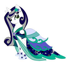 Lunar Shine Dress by Parka-Posy