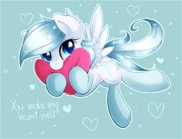 You make my heart melt by Agletka