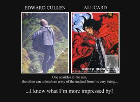 Edward Vs. Alucard by BeckyHolly