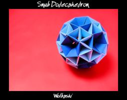 Snub Dodecahedron by wolbashi
