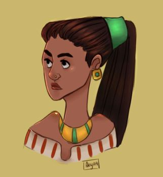 Colored girl by Akyra93