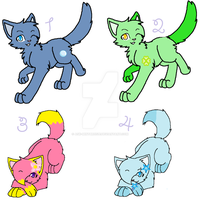Adoptables 3 by Ask-Mintbreeze