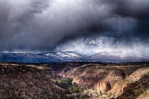 High Desert Virga by M-Lewis