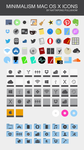 MINIMALISM : MAC OS X ICONS V4 by xenatt