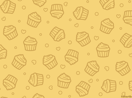 Cupcake wallpaper (Yellow) by sosogirl123