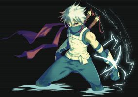 Anbu Kakashi by MoonFX