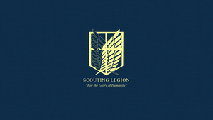 Attack on Titan: Scouting Legion Wallpaper by Imxset21