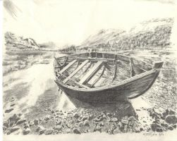 Boat.03 high res pencil by Symyn240