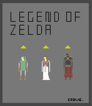 Legend of Zelda by crowecrowe