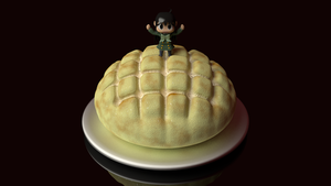 Melon Bread by picano