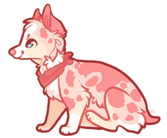 Strawberry Pup by Tealea
