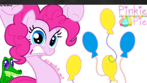 Pinkie Pie PS Vita Wallpaper by likeaBrony