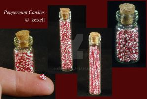 Peppermint Candies by keixell