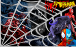 Spider-Man VS Venom by RafaellaKeiko