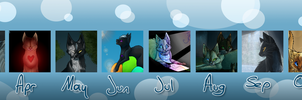2011 art overview by Finchwing