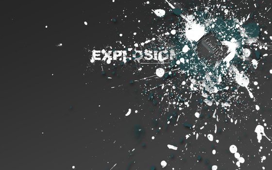 explosion by NX57