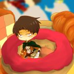 Mini Heichou warning : DO-NUT TOUCH by haru-katsu