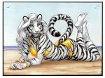 White Tigress Commission by Dustmeat