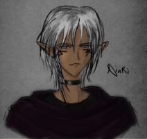 Niari has some color. by Leara