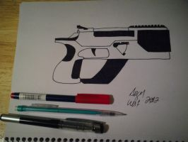 P811 Energy Pistol.. by Wolven-Slave