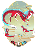 Red Dragon//Auction//CLOSED by Belliko-art