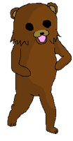 Pedobear Pose Freebie by aItered
