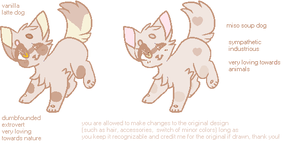 Neutral Color Adoptables! AUCTION OPEN 2/2 :-D by foxie-adopt