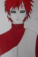 Gaara by La-Blue246
