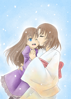 shiki and daughter by kcy4R7