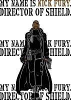 Ultimate Nick Fury by blindfaith311