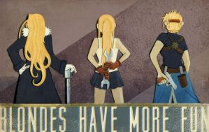 FMA Blondes Have More Fun by MonicaMcClain