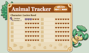 HPM: Lucien Reed's Animal Tracker by Rosbelle