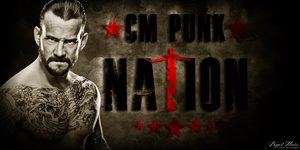 CM Punk Nation Sig V2 by BiggertMedia