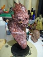 Mutate- finished bust. by misfitjake