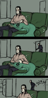 an average day in apartment 950 by Zenophrenic